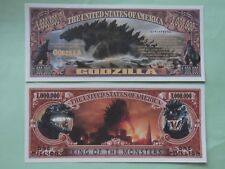GODZILLA: King of the Monsters ~*~ Scarry $1,000,000 One Million Dollar Bill