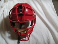 RAWLINGS Ai1 CATCHERS HELMET WITH ATTACHED FACE MASK.(VARIOUS COLORS & SIZES)