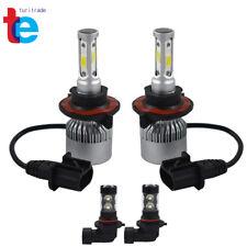 H13 9008 LED Headlight+9145 9140 Fog Lights Combo  for 2004-2014 Ford F-150