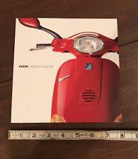 Dealer Advertising Brochure Vespa Mint Condition 2000 6 Pages