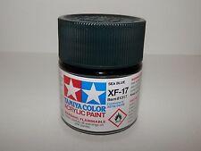 Tamiya Color Acrylic Paint Sea Blue #Xf-17 (23 ml) New
