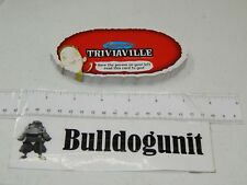 2007 Dicecapades Board Game Replacement Triviaville Cards Only