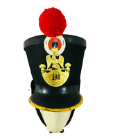 New French Napoleonic SHAKO HELMET Black Napoleonic Shako Helmet | Black Color |
