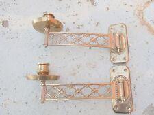 215795 Superb Antique German Art Nouveau Wall Piano Candle Sconces lampadario