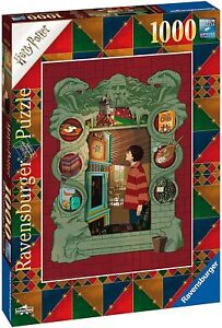 Jigsaw Puzzle - HARRY POTTER AT HOME WITH THE WEASLEY FAMILY - 1000 Pieces