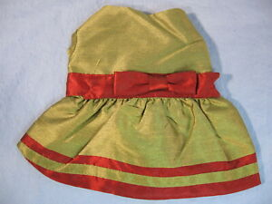 Dog Cat Christmas Holiday Shimmer Dress Size XX Small