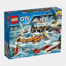 NEW LEGO City Coast Guard Head Quarters 60167