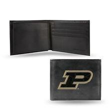NCAA Purdue Boilermakers Leather Money Clip//Cardholder Wallet