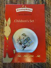 Bunnykins Royal Doulton Children's Set Plate Bowl Mug NEW old stock