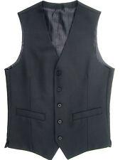 Button Wool Waistcoats for Men