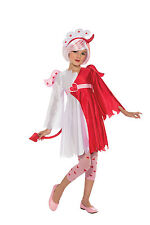 NAUGHTY 'n NICE Costume Red Devil White Angel Dress Wings Girl Child Small 4 5 6