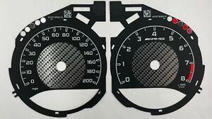 Mercedes-Benz  C63 AMG GT, speedometer dial 200mph