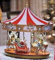 Brand New Mr. Christmas Very Merry Carousel