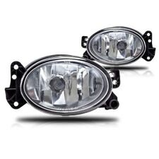 2003-2010 MERCEDES BENZ G55 AMG CRYSTAL CLEAR FOG LIGHTS LAMPS BULB PAIR SET