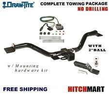 "TRAILER HITCH PACKAGE w/ 2"" BALL FOR 13-17 CHEVY TRAVERSE, BUICK ENCLAVE   75528"