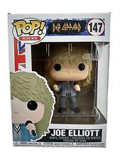 Funko Pop Joe Elliott 147 Def Leppard Rocks English Musician Vinyl Figure New