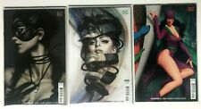 DC CATWOMAN Comic Books #4, 5 &12 All Different Variant Covers LOT of 3 BATMAN