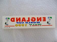 Sticker - ENGLAND World Cup ITALY 1990 Sticker (Excellent Condition)