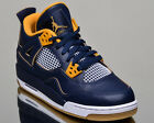 Air Jordan 4 Retro BG Dunk From Above IV lifestyle casual sneakers NEW navy