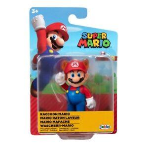 """Nintendo Super Mario 2.5"""" Action Figure - Raccoon Mario"""