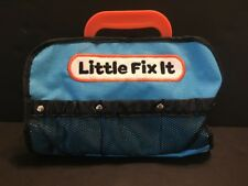 Parents Magazine Little Fix It Tool Bag Manhattan Toy Blue Orange