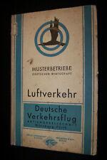 Luftverkehr Deutsche Verkehrsflug Aktiengesellschaft Nürnberg Fürth 1931 vintage
