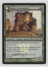 2011 #193 Mayor of Avabruck Howlpack Alpha (Prerelease Promo) Magic Card n5i