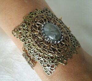 Labradorite Bracelet, victorian art deco gothic art nouveau renaissance tudor