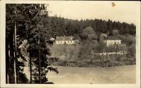Zbraslavice Tschechien AK ~30er Jahre gelaufen Pančavské údolí Partie im Tal