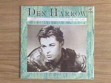 """DEN HARROW - DAY BY DAY - RARISSIMO 45 GIRI 7"""" ITALIAN PRESS"""