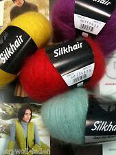 Lana Grossa Silkhair uni und Silkhair melange, verschiedene Farben zur Auswahl