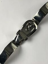 8c20dabd646 Authentic GUCCI - 6700L Stainless Steel Replacement Band