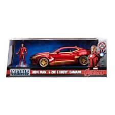 Jada Hollywood Rides: Marvel Avengers IRON MAN & 2016 Chevy Camaro 1/24 Scale