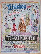 Ancienne affiche d'art Terechkovitch