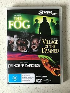 John Carpenters - The Fog + Village of The Damned + Prince of Darkness