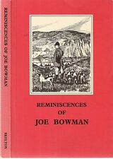 Reminiscences of Joe Bowman and the Ullswater Foxhounds 1980 by W C Skelton