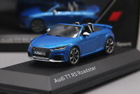 1/43 Audi TT RS Roadster Diecast Car model Collection Toy