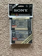 NEW VTG SONY ES-II 74 vintage audio cassette in Japan Type II Double Pack