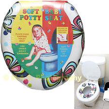 Kid Toddler Child Girl Boy Soft Padded Toilet Training Trainer Seat
