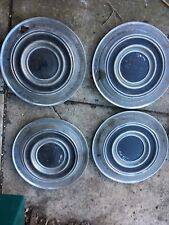 Vauxhall Victor Hub Caps Wolsey Stainless Steel