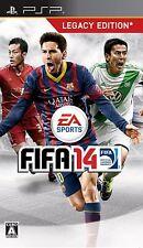 PSP FIFA14 World Class Soccer Japan Import Game Japanese