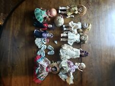 Lot Vintage Doll 1950's with dress hat clothes shoes Usa