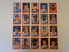 1990 Wonder Bread Baseball Card Complete Set Of 20 Cards - Top Stars and HOFers