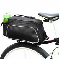 Roswheel Texture Series Cycling Bicycle Bike Pannier Rear Seat Bag Rack Trunk