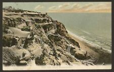 Dorset. Bournemouth. East Cliff Steps, Bournemouth - F.G.O Stuart Postcard #1093