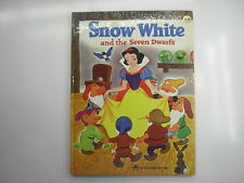 Walt Disney's Snow White and the Seven Dwarfs, Giant Golden Book, 1983