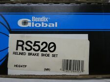 BRAND NEW BENDIX GLOBAL REAR BRAKE SHOES RS520 / 520 FITS VEHICLES ON CHART