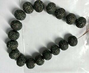925 Silver Starling jewelry Beautiful Diamond And Classic Style Nice Beads13x13