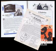 GAUMONT Catalogue+CP Orpheline FEUILLADE L'Herbier EL DORADO Maciste Poirier '21