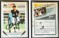 Joey Cora Signed 1993 Topps #122 Card Chicago White Sox Auto Autograph